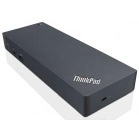 Lenovo 40AC0135IT USB 3.1 (3.1 Gen 2) Type-C Nero replicatore di porte e docking station per notebook