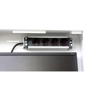 Box di sicurezza per DVR e sistemi di videosorveglianza Bianco