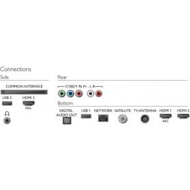 Philips 6500 series Smart TV LED ultra sottile 4K 55PUS6503/12