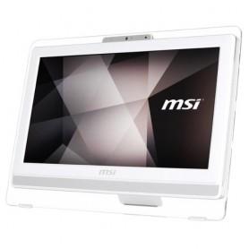 """LCD-PC MSI PRO 20E 4BW-047XEU Bianco 19,5"""" Cel N3160 4GB 1TB DVD Tastiera e Mouse NO SIST. OPERATIVO"""