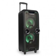NGS ALTAVOCES 2.1 WILD ROCK BLUETOOTH Trolley Public Address (PA) system 200W Nero