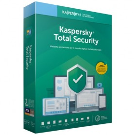 KASPERSKY TOTAL SECURITY 2019 3 USERS 1 ANNO KL1949T5CFS-9SLIM