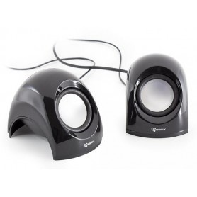 Mini Speaker per Notebook Nero