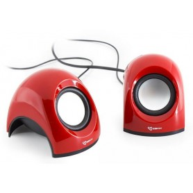Mini Speaker per Notebook Rosso