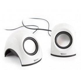 Mini Speaker per Notebook Bianco