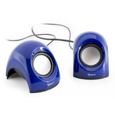 Mini Speaker per Notebook Blu