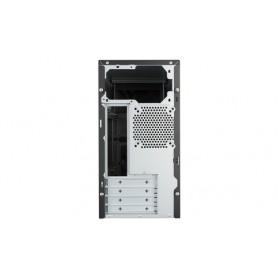 Cooler Master MasterBox E300L Mini-Tower Nero, Rosso vane portacomputer