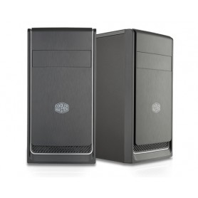 Cooler Master MasterBox E300L Mini-Tower Nero, Argento vane portacomputer