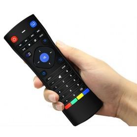 Telecomando Ergonomico con Mini Tastiera Air Mouse Wireless Lady Shape