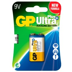 Blister 1 Batteria 9V GP Ultra Plus