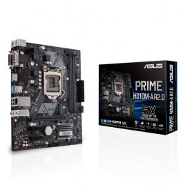 MB ASUS PRIME H310M-A R2.0 LGA1151 (COFFEE LAKE) 2DDR4 VGA+DVI+HDMI 2*PCIe mATX