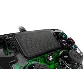 NACON PS4OFCPADCLGREEN Gamepad PlayStation 4 Verde, Trasparente periferica di gioco