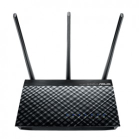 ASUS DSL-AC750 Dual-band (2.4 GHz/5 GHz) Gigabit Ethernet Nero router wireless