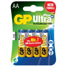 Blister 4 Batterie AA Stilo GP Ultra Plus
