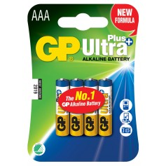 Blister 4 Batterie AAA Mini Stilo GP Ultra Plus