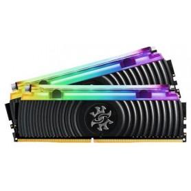 ADATA RAM GAMING XPG SPECTRIX D80 DDR4 3200MHZ CL16 2X8GB RGB LIQUID COOLED BLACK HEATSINK