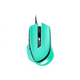 SHARKOON MOUSE OPTICAL USB GAMING 6 TASTI 1600DPI VERDE MENTA