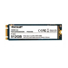 PATRIOT SSD SCORCH 512GB M.2 PCIE GEN 3X2 NVM2 1.2