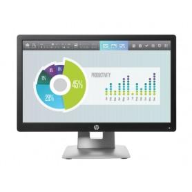 """HP EliteDisplay E202 monitor piatto per PC 50,8 cm (20"""") HD+ LED Nero, Argento"""