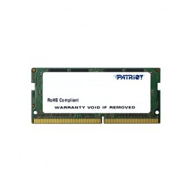 DDR4 X NB SO-DIMM PATRIOT 4GB 2400Mhz - PSD44G240081S