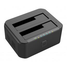 USB 3.0 Docking station 2 HDD / SSD SATA 2.5'' / 3.5''