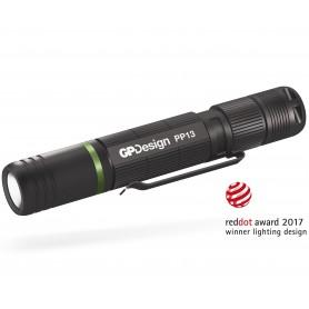 Torcia Cree LED XP-E2 100lm idrorepellente alluminio Penlight PP13