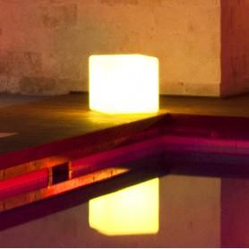 Techly Lampada Led da Arredo da esterno - Cube