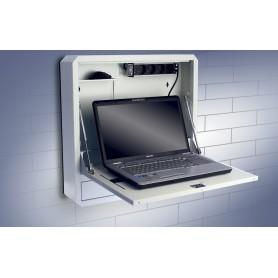 Box di Sicurezza per Notebook e Accessori per LIM Bianco