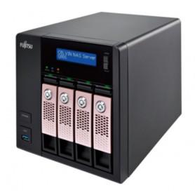 Fujitsu CELVIN NAS Q805 NAS Torre Collegamento ethernet LAN Nero
