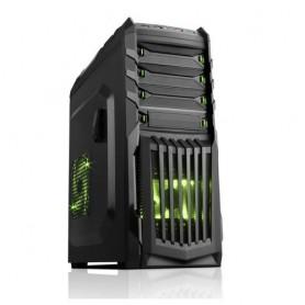 iTek SNAKE-G Midi-Tower Nero vane portacomputer