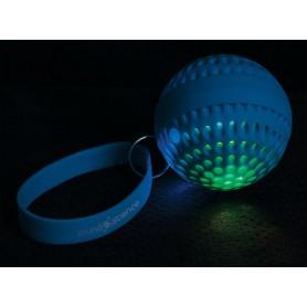 Speaker Portatile Bluetooth Wireless Luminoso Atom Blu