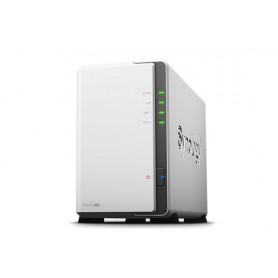 SYNOLOGY NAS 2XHDD SATA2 3,5 MAX 8TB GIGALAN JBOD RAID 0 1