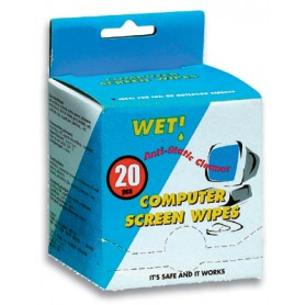 Salviette Microfibra Umidificate Kit 20 pz
