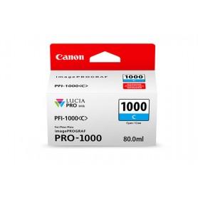 Canon PFI-1000 C cartuccia d'inchiostro Cyan 80 ml