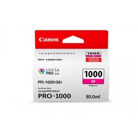 Canon PFI-1000 M cartuccia d'inchiostro Magenta 80 ml