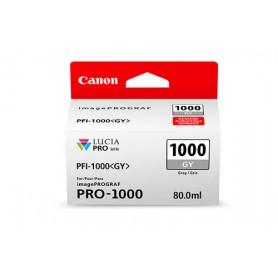 Canon PFI-1000 GY cartuccia d'inchiostro Grigio 80 ml