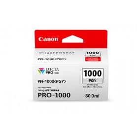 Canon PFI-1000 PGY cartuccia d'inchiostro Grigio per foto 80 ml