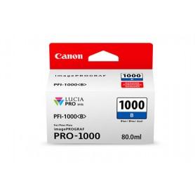 Canon PFI-1000 B cartuccia d'inchiostro Blu 80 ml