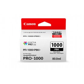 Canon PFI-1000 PBK cartuccia d'inchiostro Nero per foto 80 ml