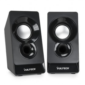 Vultech SP-320N altoparlante 3 W Nero