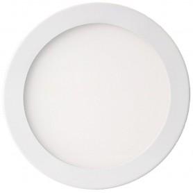 Techly Pannello Luminoso a LED Rotondo Diametro 240mm 18W Bianco Neutro A+ (I-LED-P240-R418W)