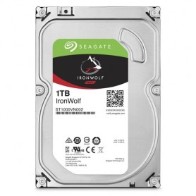 Seagate NAS HDD IronWolf 1TB 1000GB Serial ATA III disco rigido interno