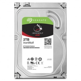 Seagate NAS HDD IronWolf 2TB 2000GB Serial ATA III disco rigido interno