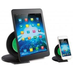 Techly Coppia Stand Universali da Tavolo per Tablet e Smartphone a Ventosa (I-SMART-GRAB)